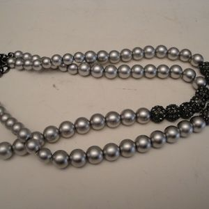 Banana Republic BR  2 Strand Pearls Necklace